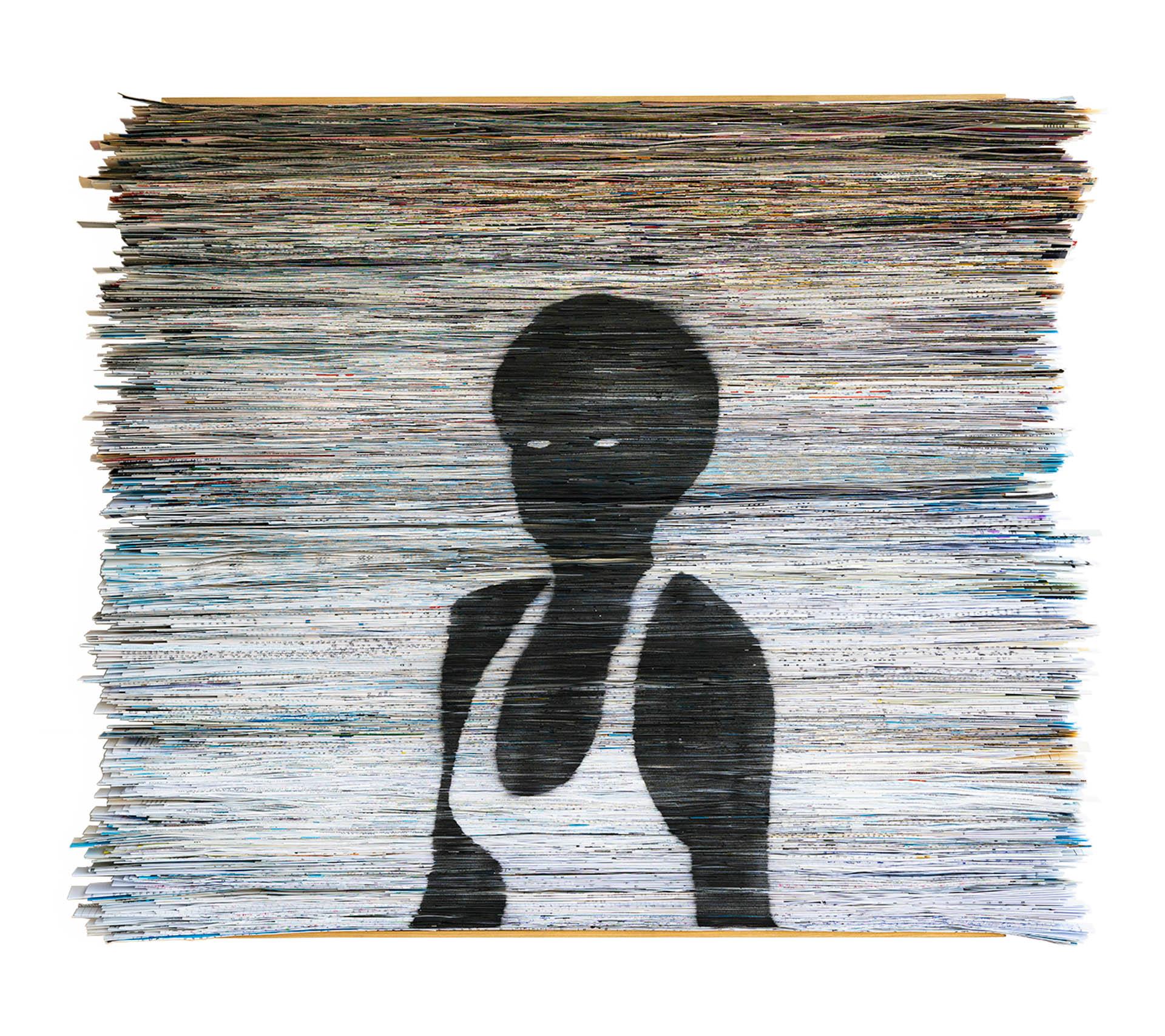 עותק-של-Metaphor-2-2020-folded-papaer-on-plywood_graffiti-90x75x7-cm-8000
