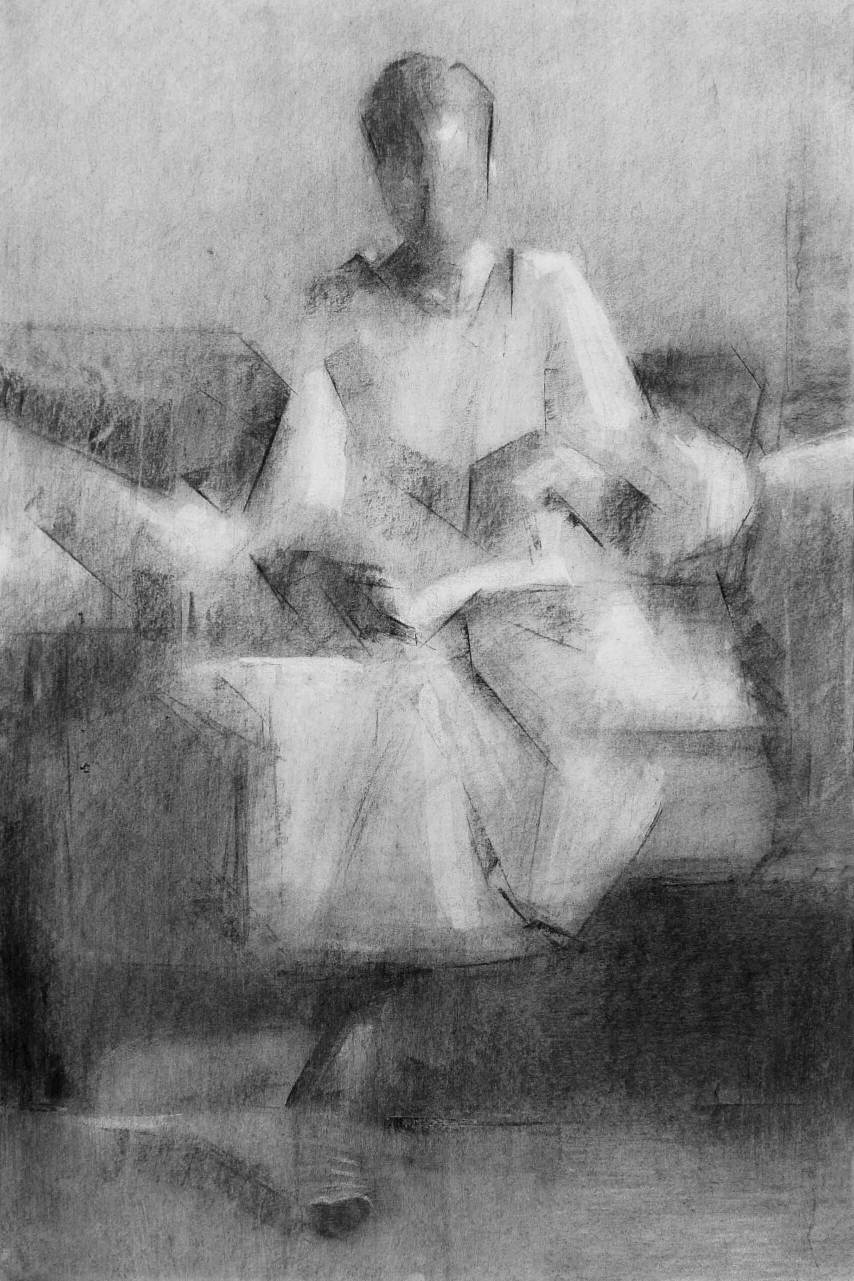 עותק-של-Tigist-Ron-Yoseph-HOME-Self-Portrait-2021-Charcoal-on-paper-1